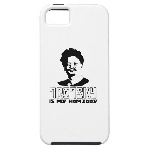León Trotsky es mi homeboy iPhone 5 Case-Mate Carcasa