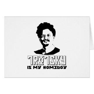 León Trotsky es mi homeboy Tarjetón