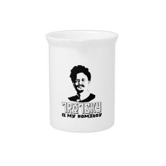 Leon Trotsky is my homeboy Beverage Pitchers
