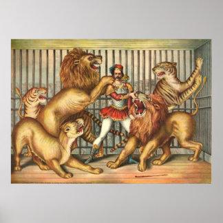León un 1873 más doméstico póster