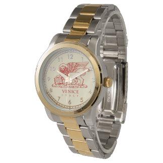 León veneciano relojes de pulsera