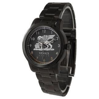 León veneciano reloj