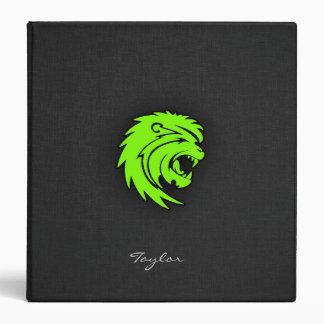 León verde chartreuse, de neón de Leo