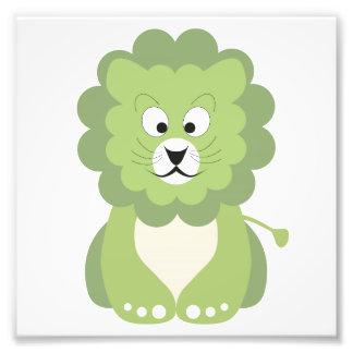 León verde fotografías