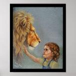 León y chica impresiones