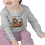 León y cordero en calabazas camiseta