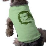 León y el cordero camisetas de mascota