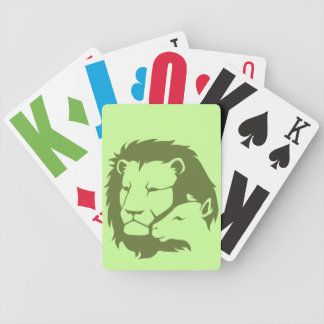 León y el cordero cartas de juego