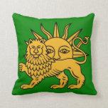 León y Sun Cojín Decorativo