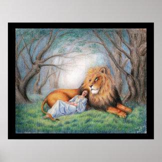 León y yo póster