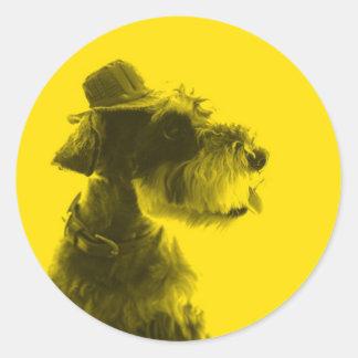 Leon yellow sticker