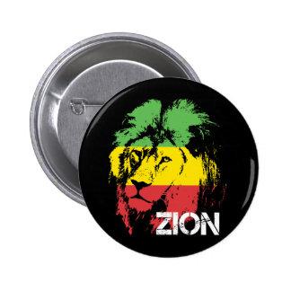 León Zion Pin Redondo De 2 Pulgadas