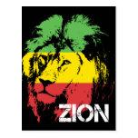 León Zion Tarjeta Postal