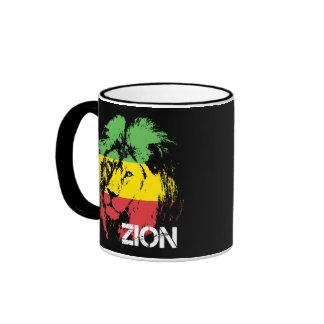 León Zion Taza De Dos Colores