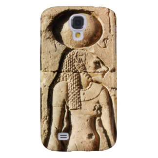 Leona de Sekhmet jeroglífica Funda Para Galaxy S4