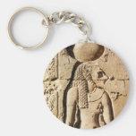 Leona de Sekhmet jeroglífica Llavero Personalizado
