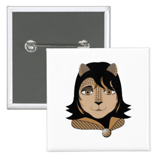 Leona el chica del leopardo pin