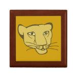 Leona lioness cajas de regalo