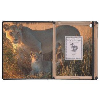 Leona (Panthera Leo) y Cub iPad Fundas