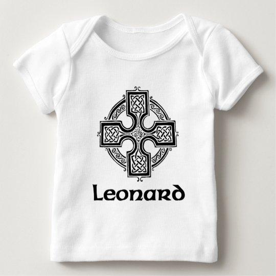 Leonard Celtic Cross Baby T-Shirt