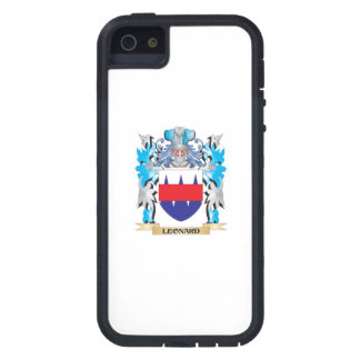 Leonard Coat of Arms - Family Crest Case For iPhone 5/5S