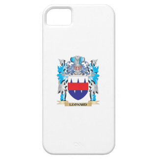 Leonard Coat of Arms - Family Crest iPhone 5/5S Covers