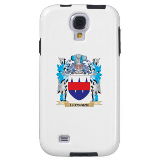 Leonard Coat of Arms - Family Crest Galaxy S4 Case