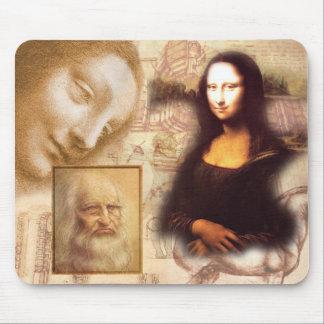Leonard-de-Vinci Tapetes De Ratones
