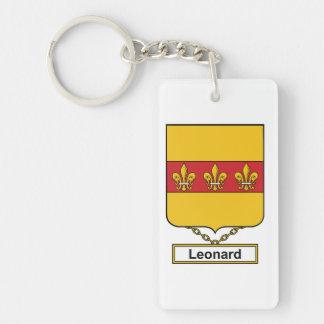 Leonard Family Crest Keychain