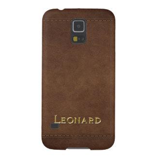 LEONARD Leather-look Customised Phone Case