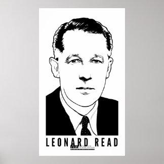 Leonard leyó el poster