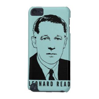Leonard leyó la caja del tacto de iPod