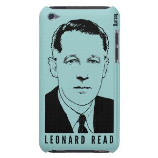 Leonard leyó la caja del tacto de iPod Barely There iPod Carcasa