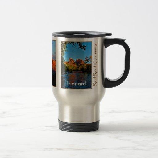 Leonard on Red Rock Crossing Mug
