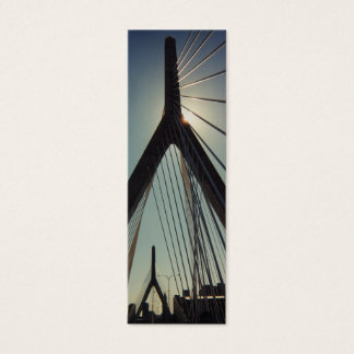 Leonard P. Zakim Memorial Bridge Bookmark Mini Business Card