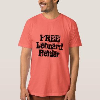 Leonard Peltier LIBRE Camisas