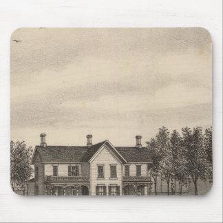 Leonard residence, Quenemo, Kansas Mouse Pad