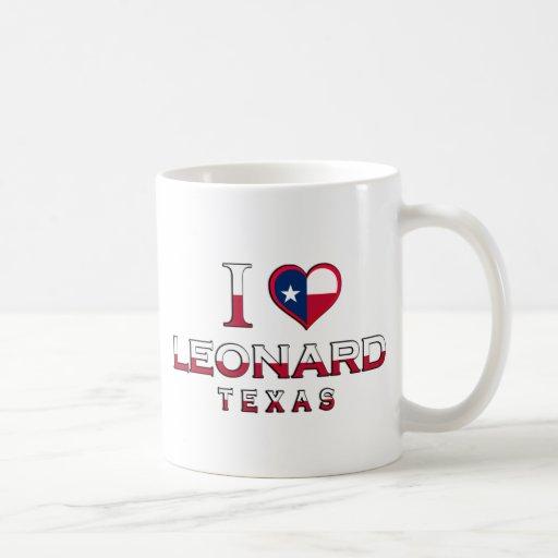 Leonard, Texas Classic White Coffee Mug