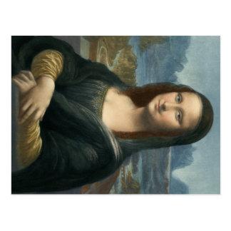 Leonarde da Vinci Mona Lisa Postal
