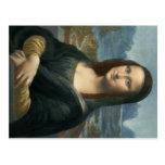 Leonarde da Vinci Mona Lisa Tarjeta Postal