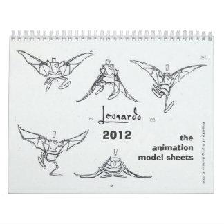 Leonardo 2012 Calendar
