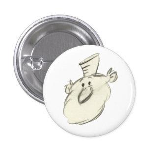 Leonardo - botón pequeño pin redondo de 1 pulgada