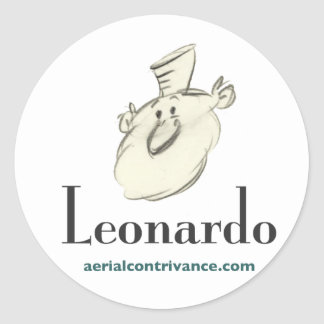 Leonardo Classic Round Sticker