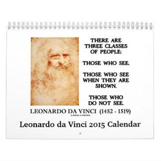 Leonardo da Vinci 2015 Calendar by Words & Unwords
