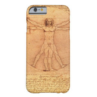 Leonardo Da Vinci Anatomy Study of human body Barely There iPhone 6 Case