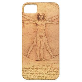 Leonardo Da Vinci Anatomy Study of human body iPhone 5 Cases
