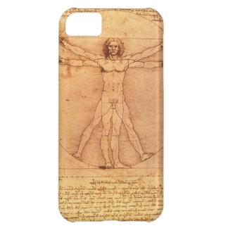 Leonardo Da Vinci Anatomy Study of human body Case For iPhone 5C