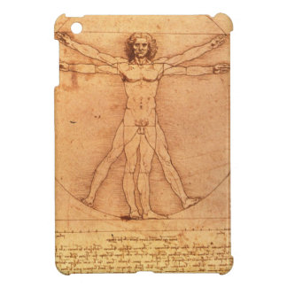 Leonardo Da Vinci Anatomy Study of human body iPad Mini Cover