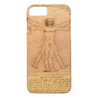 Leonardo Da Vinci Anatomy Study of human body iPhone 7 Case
