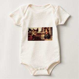 Leonardo da Vinci - Announcement to Maria Baby Bodysuit